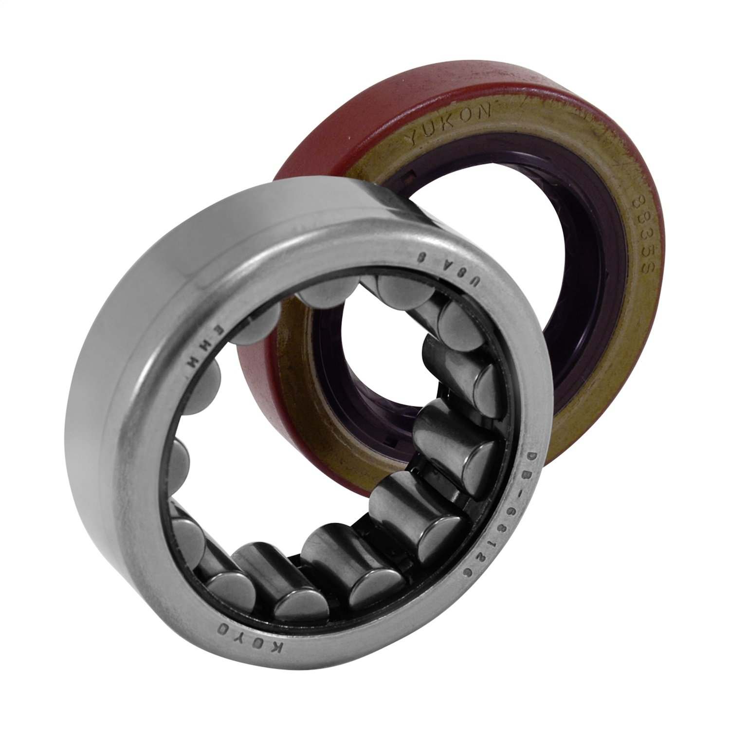 Yukon (AK 1559) Torrington 2.530' O.D. x 1.620' I.D. R1559TV Axle Bearing and Seal Kit Yukon Gear