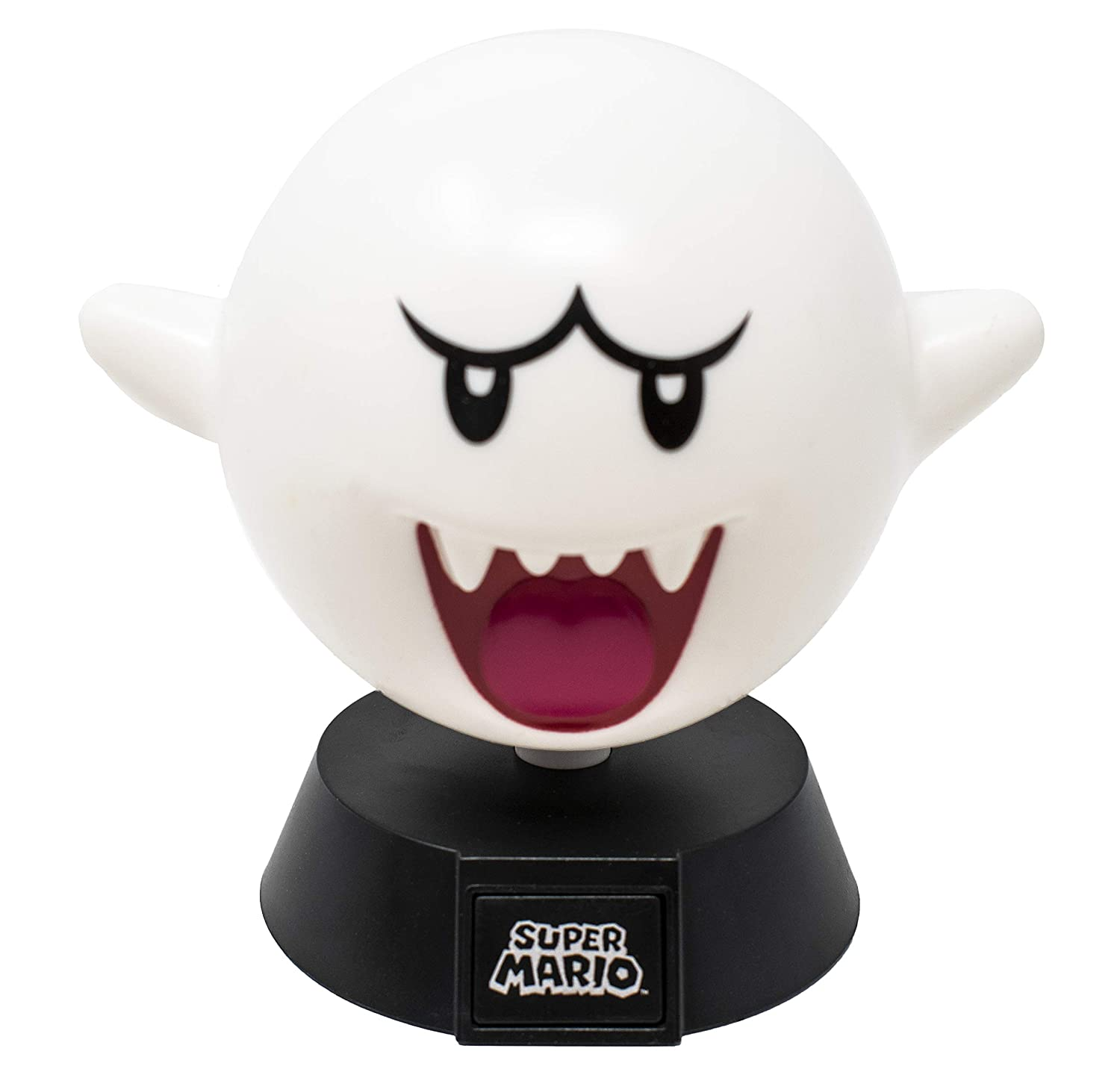 Super Mario Bros  Boo Ghost 3D Night Light - Decorative Lamp Collectible