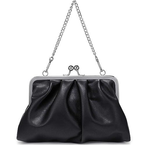 Amazon.com: Bolsos de noche para mujer, bolso de mano de ...