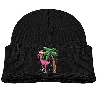 Moniery Pink Flamingo Skull Hats Baby Girls