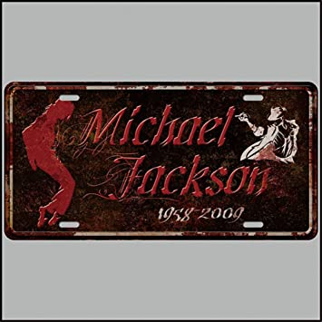 Amazon.com: pengtribe Michael Jackson Retro Vintage Barra de ...