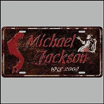 Amazon.com: pengtribe Michael Jackson Retro Vintage Barra de ...