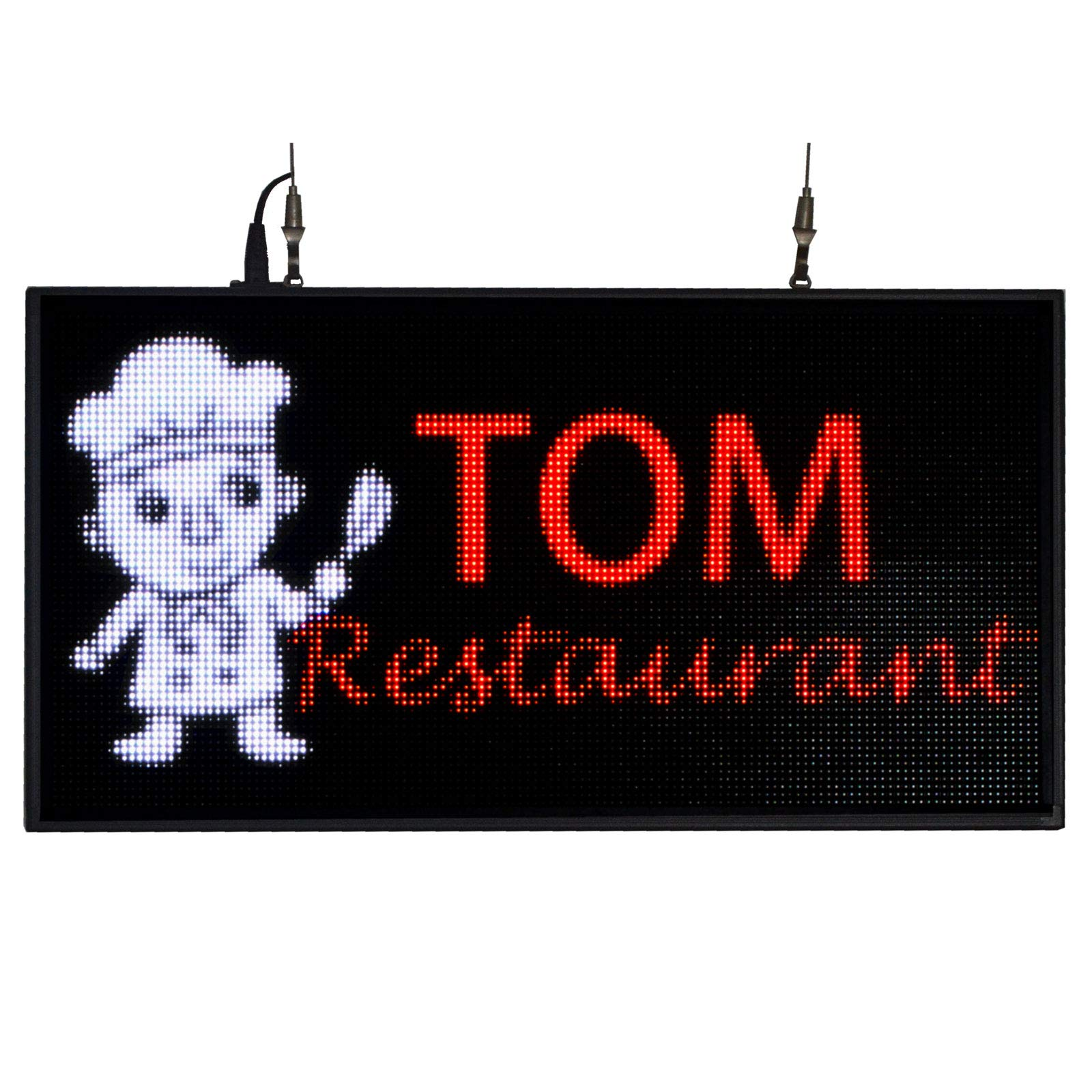 """P5 27""""x14'' LED Sign for Store Display Images"""
