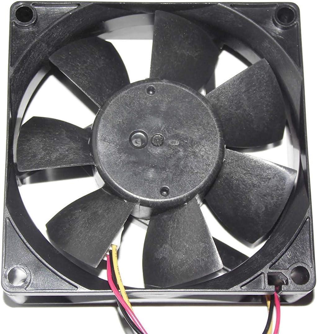 Cooler Fan for Melco MMF-08C24ES RM1 CA1321-H01 808025mm 24V 0.16A 3 pin Cooling Fan