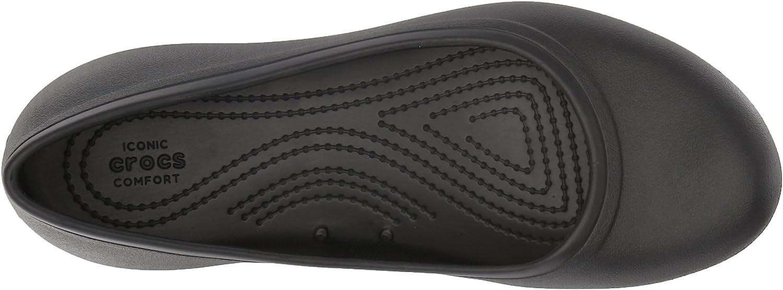 Crocs Women's Kad2workflatw Ballet Flat: Shoes