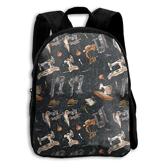 Amazon Com Toddler Backpack Old Times Sewing Machine Kids Backpack