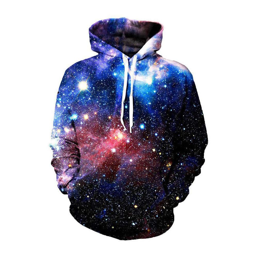 GMYANWY XL-Sterne-Mode Kapuzen-Pullover Trend Hip-Hop-Kleidung