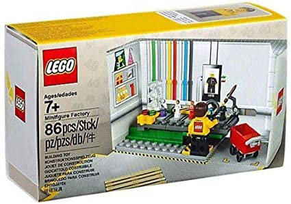 LEGO MINIFIGURE FACTORY SET 5005358