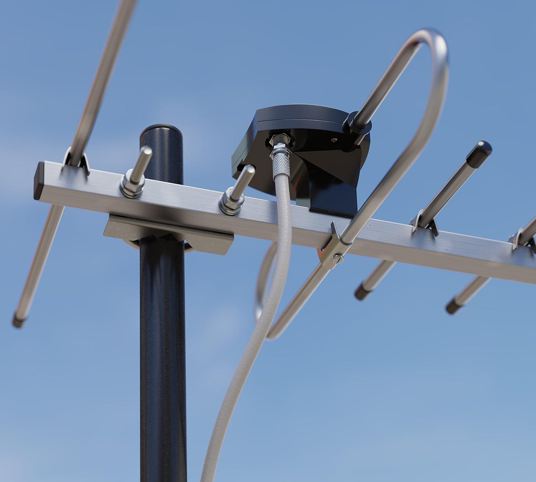 Outdoor TV Antenna BAS-1105-P CORSAR Compact UHF-Band Attic Lightweight High Gain