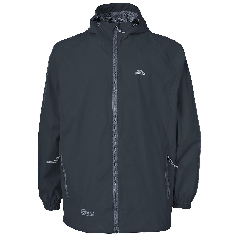 Adulte unisexe Manteau de pluie repliable L Cobalt Trespass Qikpac