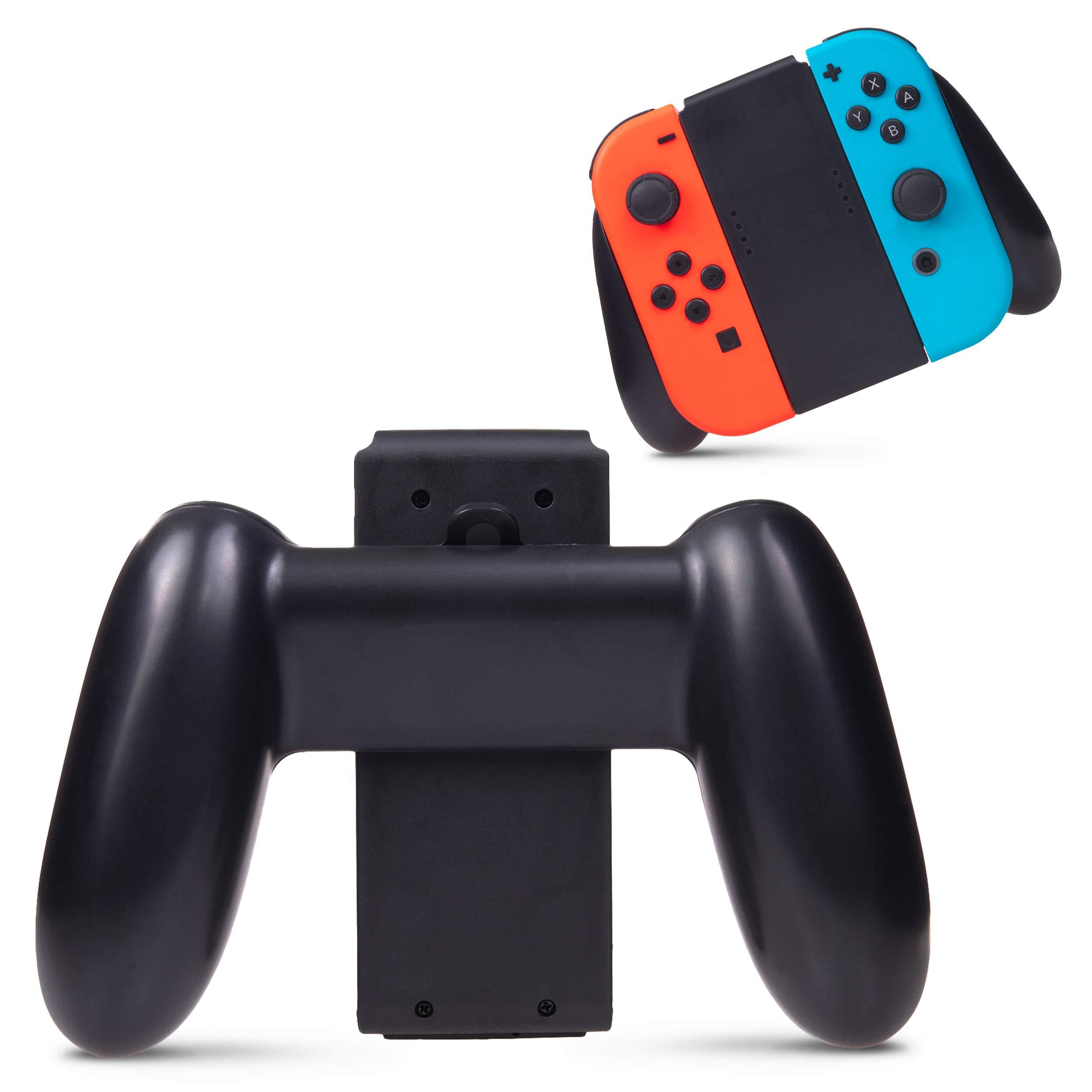 Advanctech Hand Grip for Nintendo Switch Joy-Con Controllers, Ergonomic Handheld Gaming Handles by Advanctech
