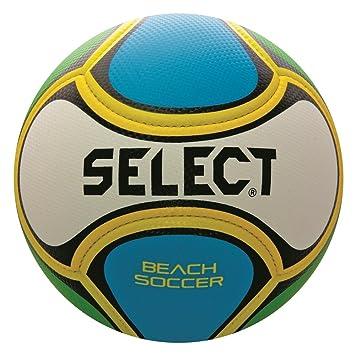 Select balón de fútbol Playa, tamaño 5, Color Blanco/Azul/Verde ...