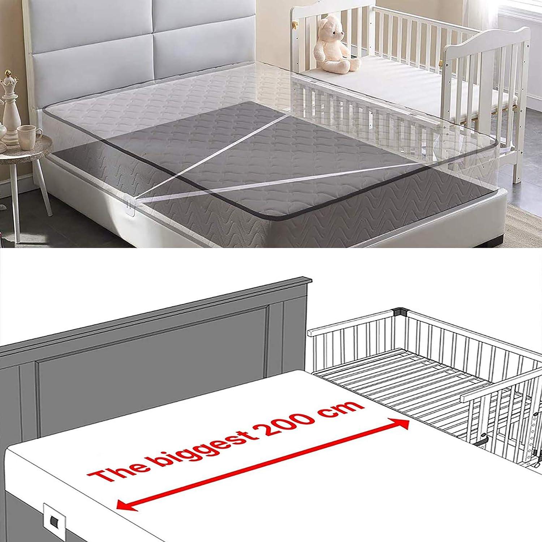 Babybett Gurt Beistellbett Befestigung,Beistellbetten-Gurt f/ür Boxspringbetten,Babybett Befestigung 7m