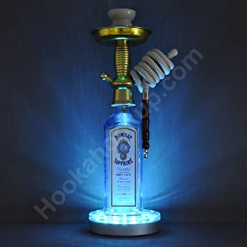 Amazon Com Bombay Sapphire 1l Bottle Hookah With Led Stand Health