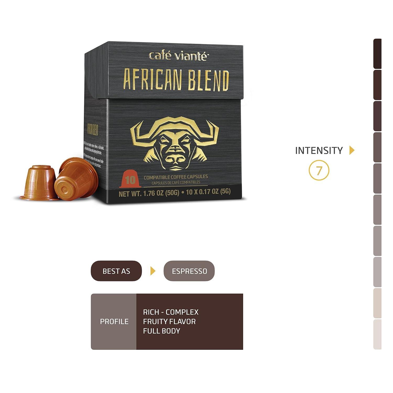 Nespresso - Cápsulas de café Gourmet compatibles para ...