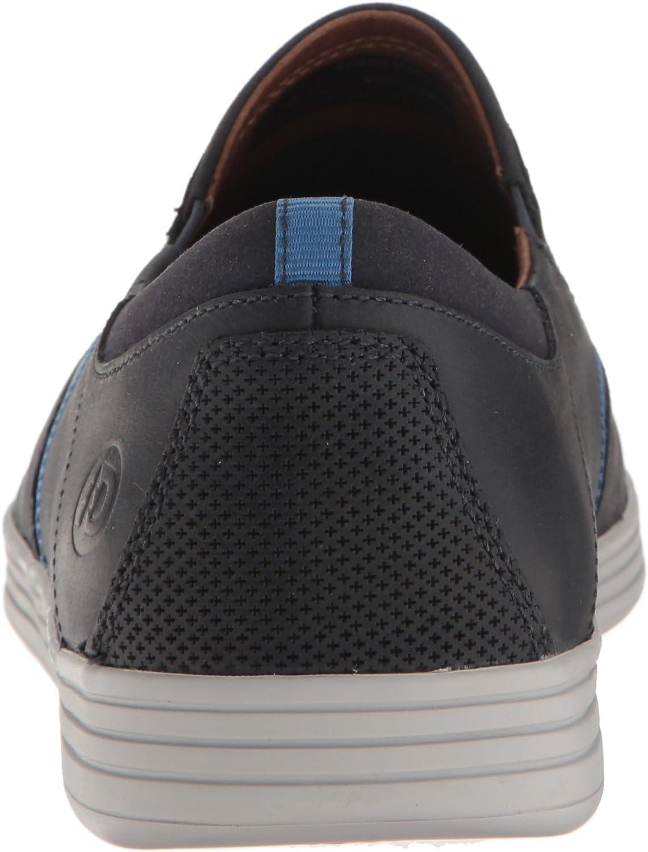 Dunham Men's Colchester Slipon Fashion Sneaker Blue