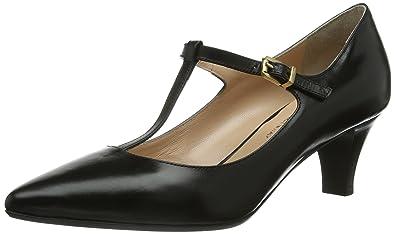 Evita Shoes Pumps geschlossen, Damen Pumps, Schwarz (Schwarz), 41 EU (7 Damen UK)