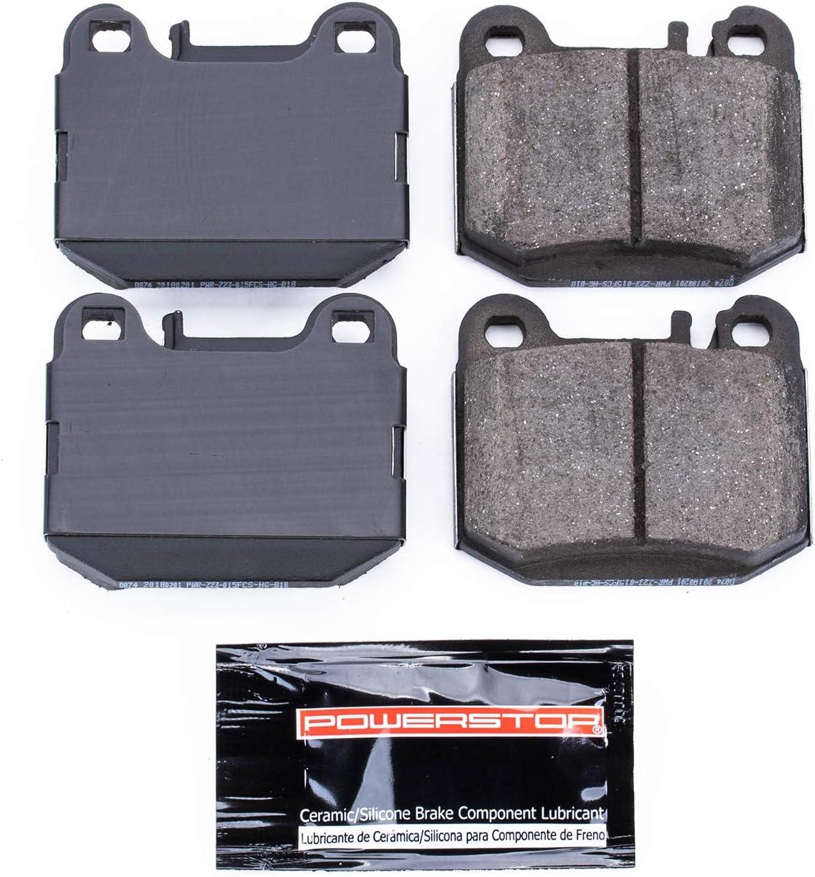 Power Stop Z23-1594 Z23 Evolution Rear Carbon-Fiber Ceramic Brake Pads