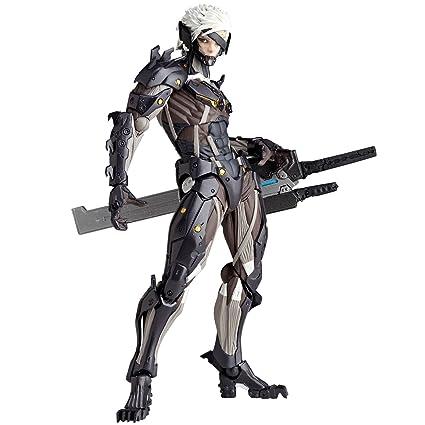 Amazon Kaiyodo Revoltech Yamaguchi 140 Metal Gear Rising Revengence Raiden Action Figure Toys Games