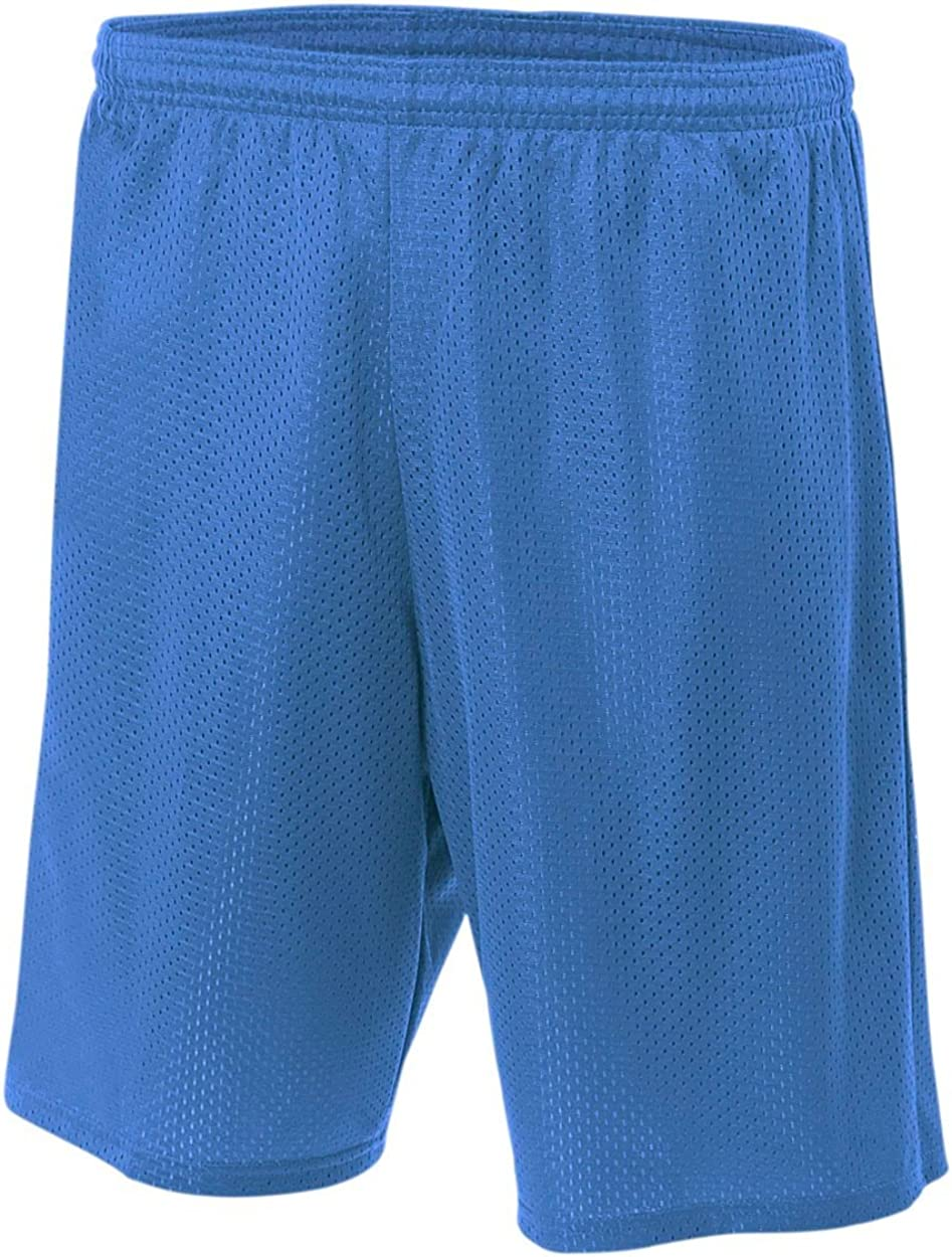 A4 9 Lined Tricot Mesh Shorts