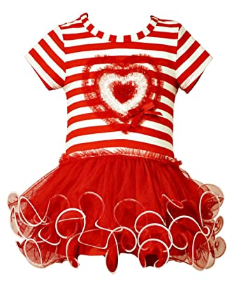 Amazon Com Bonnie Jean Little Girls Valentine S Day Tutu Dress