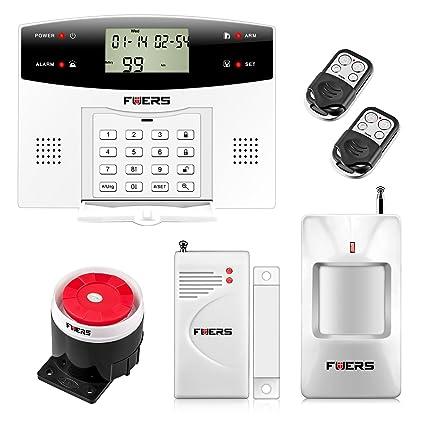 Fuers – G2 Kit sistema de alarma de casa alarma antirrobo double-réseau GSM/