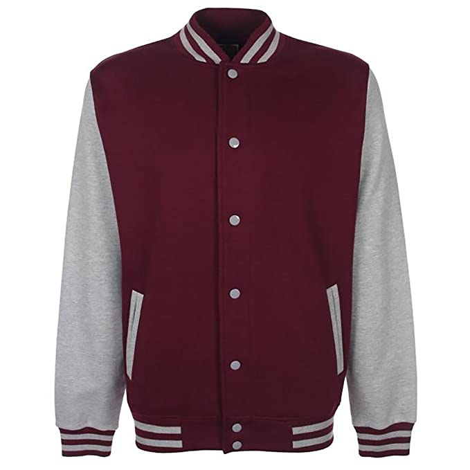 FDM Fundamental Mens Varsity Jacket