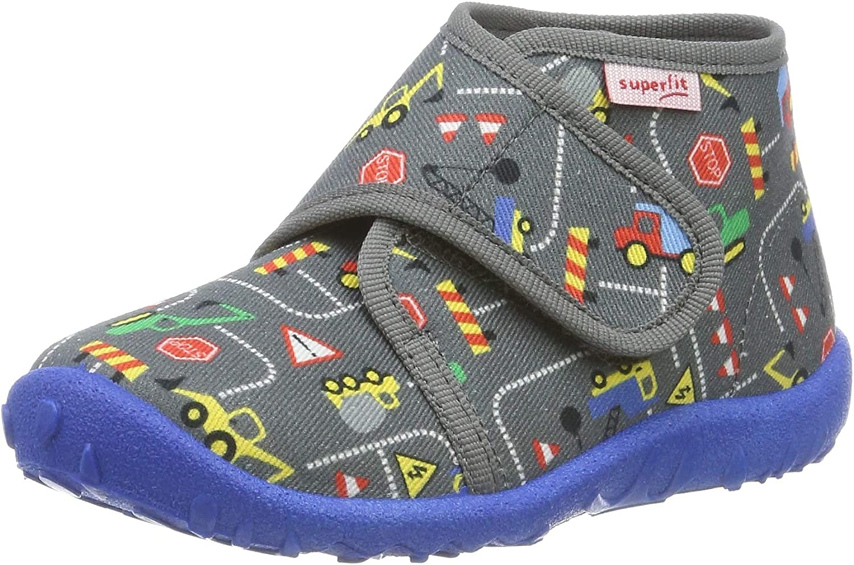 Superfit Boys/' Spotty Hi-Top Slippers