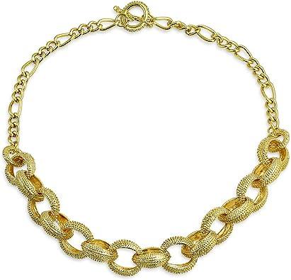 Ladies/' Designer Inspired #5 Chain Link Necklace