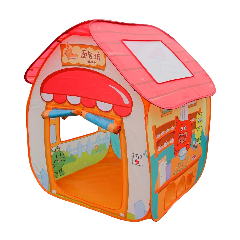 Amazon.com Homfu Kids Toy Tent Princess Playhouse with 50 Ocean Balls Children Play Tent and Portable Playhouse for Boys Girls Fun Toys u0026 Games  sc 1 st  Amazon.com & Amazon.com: Homfu Kids Toy Tent Princess Playhouse with 50 Ocean ...