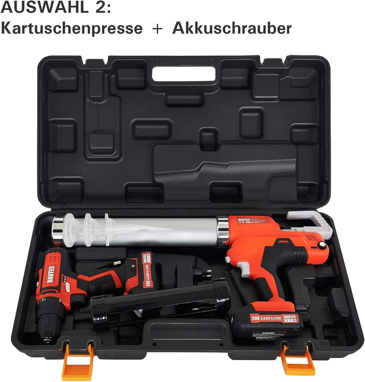 Ersatz-Akku 2.0 Ah für den BAUTEC Akkuschrauber