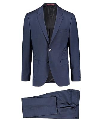 offiziell kosten charm beste Sammlung BOSS Hugo Herren Anzug Jeffrey182/ Simmons182 Regular Fit ...