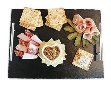 Piatti Cucina In Ardesia : Grande piatto da portata in ardesia cm amazon casa e