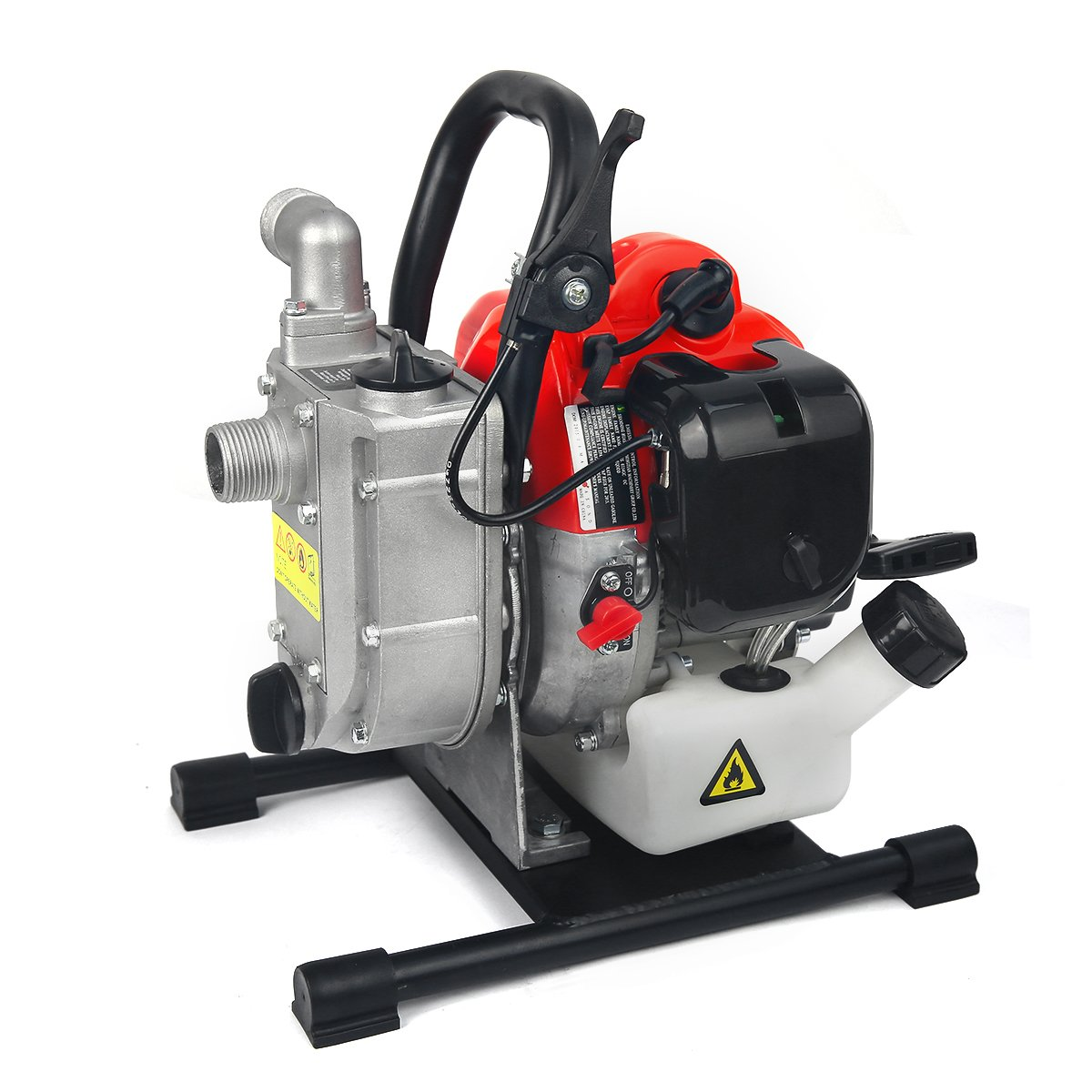XtremepowerUS 1'' 33 CC 2-Stroke Gas-Powered Portable Water Pump