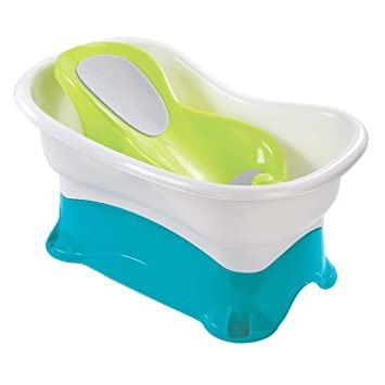 Bathing & Grooming Comfort Height Bath Tub Lightweight Comfortable Incline For Baby Infant Toddler Baby