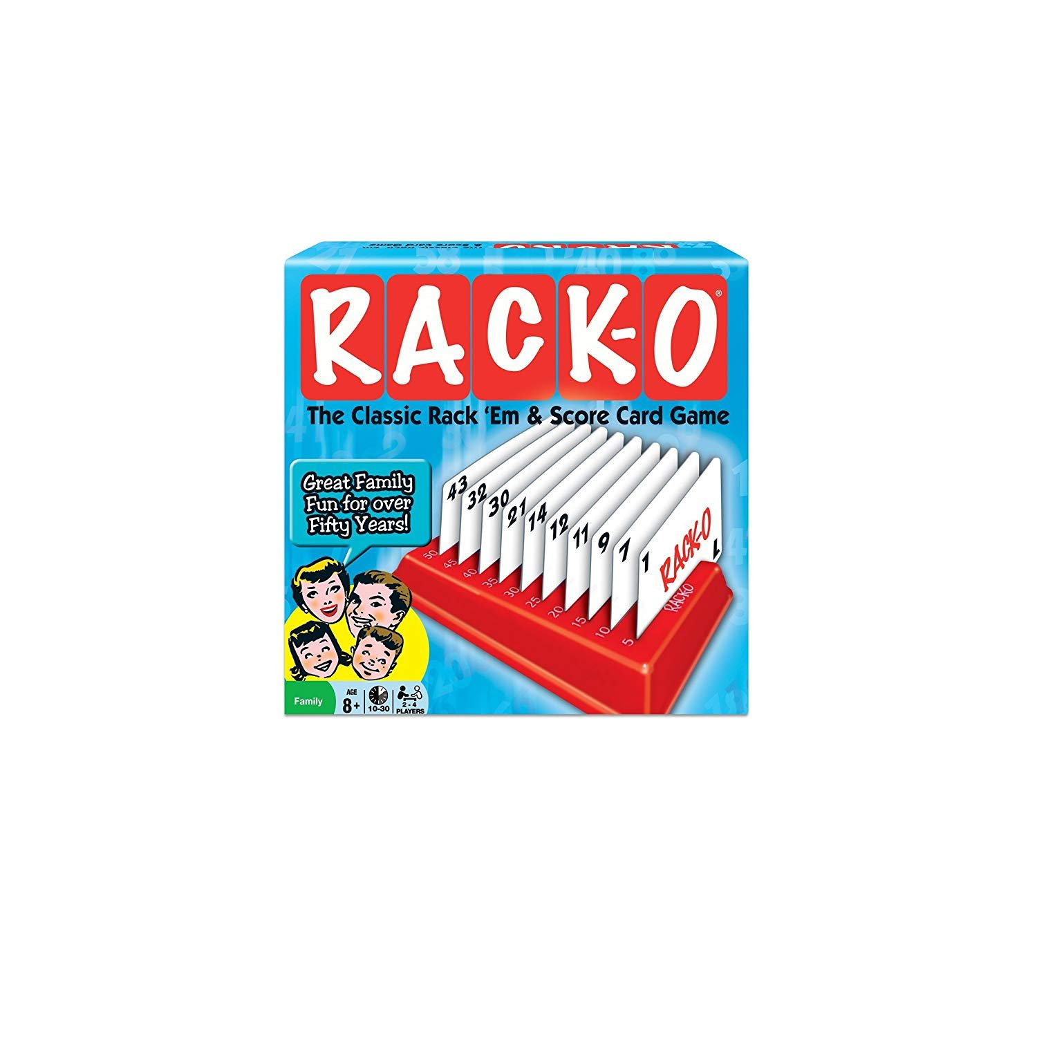 RACK-O Deluxe pack Retro package Card Game