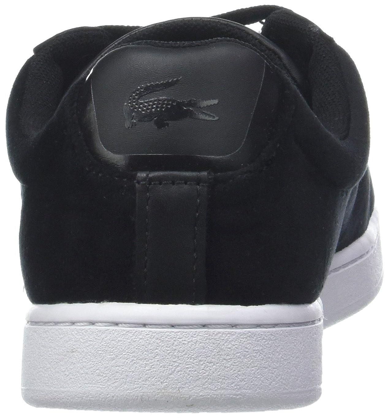 Lacoste Damen Carnaby (Blk/Wht Evo 318 8 SPW Sneaker Schwarz (Blk/Wht Carnaby 312) f32993