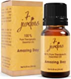 Amazing Day Energy Boost Synergy Blend Essential Oil 100% Pure & Natural Therapeutic Grade 10 ml - Energizes, Uplifts - Lemon, Lime, Grapefruit Pink, Eucalyptus Globulus, Ginger, Lemongrass