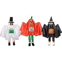 3 Northlight Pumpkin & Bat Standing Halloween Kid Figures 36-in Deals