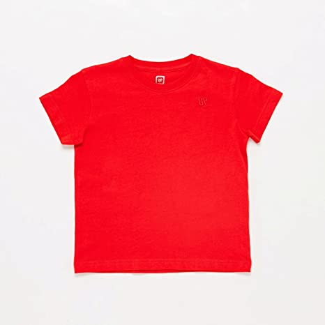 Camiseta Roja Niño Up (Talla: 8) : Amazon.es: Ropa