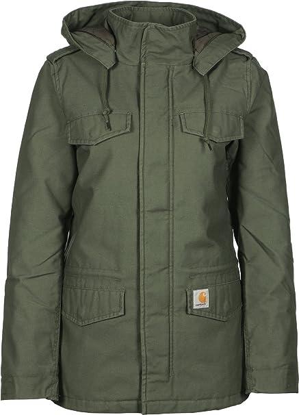Carhartt Hickman W-abrigo para mujer verde oliva XS: Amazon.es: Ropa y accesorios