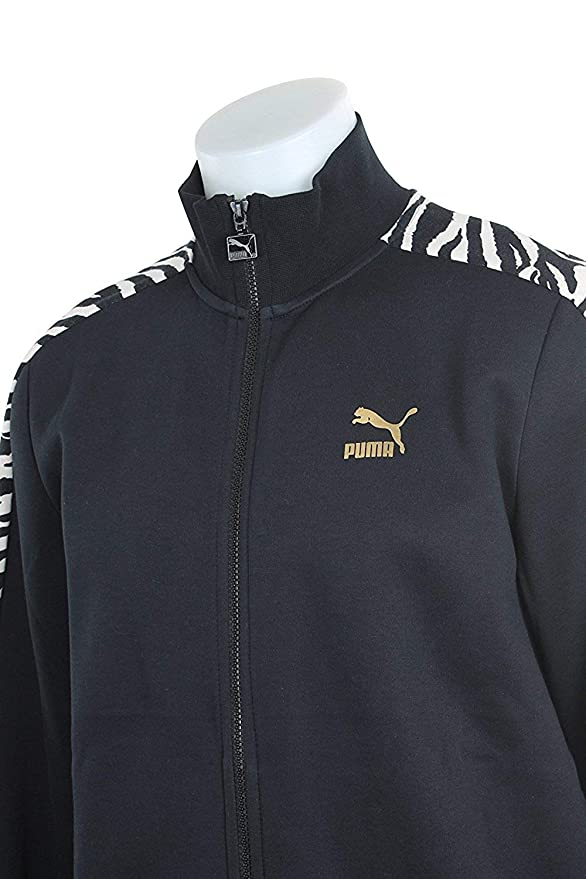 5ef8eac86a8b PUMA Men s Clyde Rolls Winter Suits T7 Sweat Jacket Cotton Black Outerwear   PUMA  Amazon.ca  Sports   Outdoors