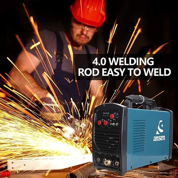Ansen Welder IGBT Inverter Electric Welder 115V/230V Dual Voltage Tig&Stick DC Lift TIG Portable Welding Machine(160AMP/200AMP) (TIG-205S-200A) - - Amazon. ...