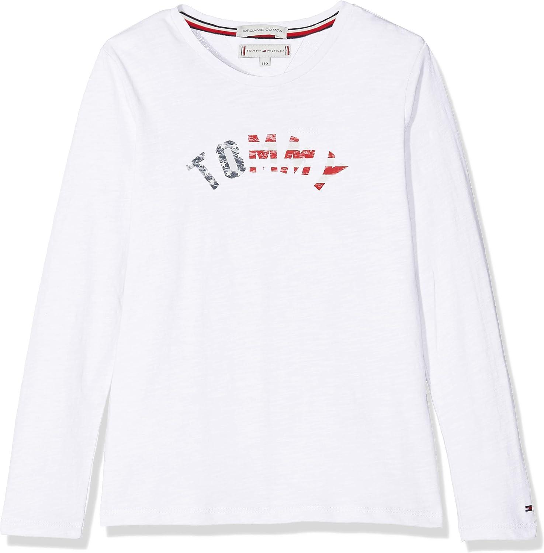 Tommy Hilfiger Girls Essential Hilfiger Tee L//S Long Sleeve Top