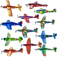 THE TWIDDLERS 48 Planeadores Voladores de Aviones para Niños - Fácil de Montar