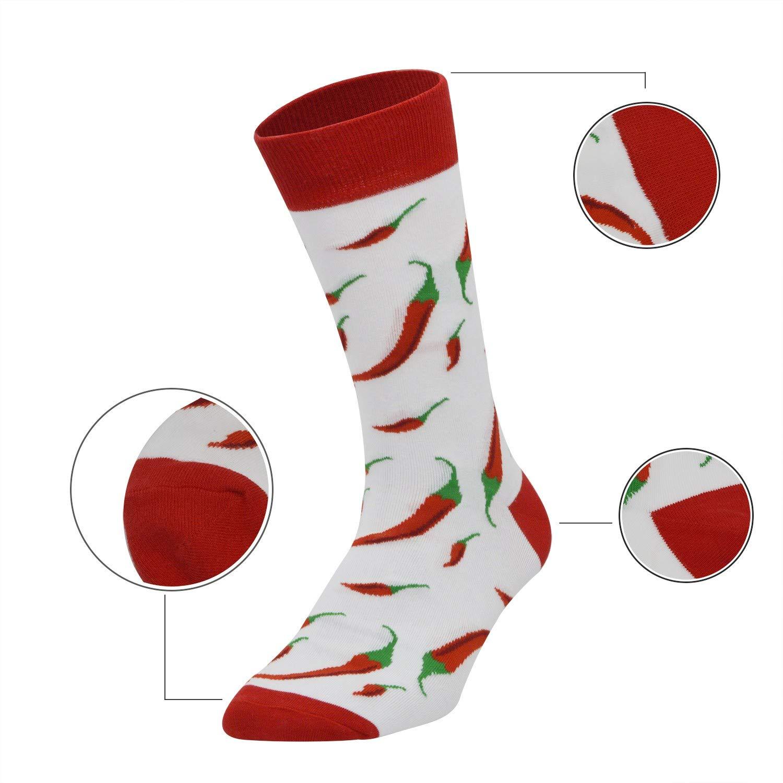 iParaAiluRy 4//5 paia Calzini Divertenti da Uomo e Donna in Cotone Inverno Socks con Colorate Divertente Disegni