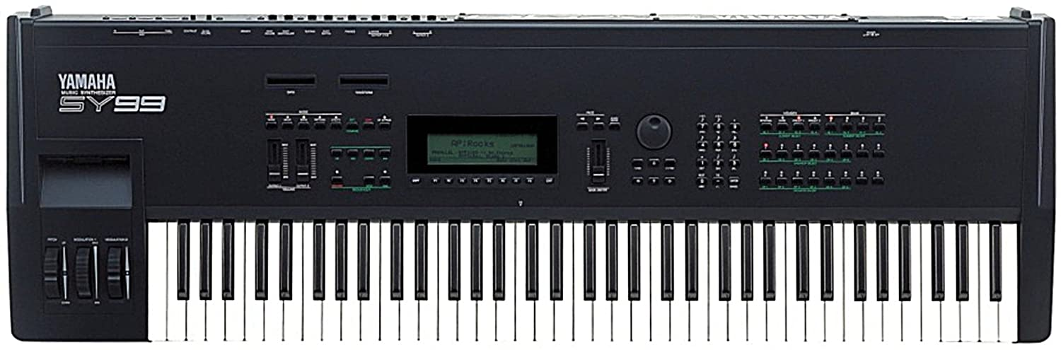 YAMAHA( ヤマハ ) SY99  Keyboard キーボード◆シンセサイザー◆Vintage Syntheiszer◆ B00OFH4ET2