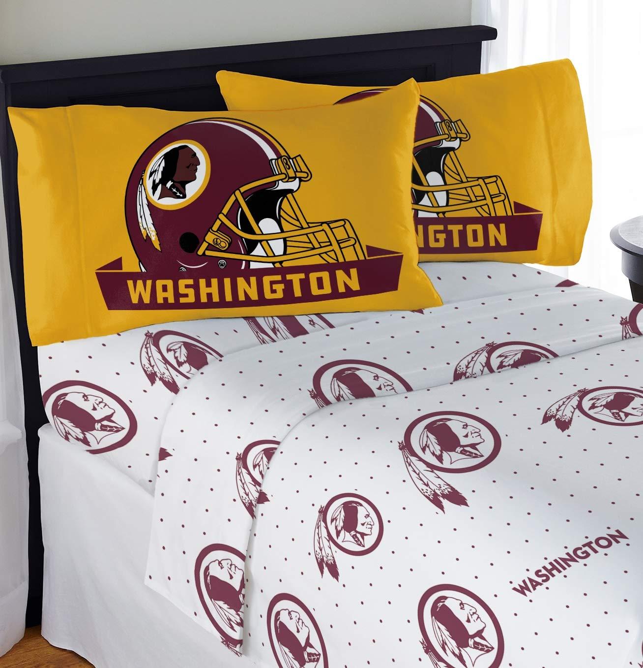 """Northwest NFL Washington Redskins """"Monument"""" Full Sheet Set #949930547"""