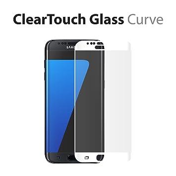 Samsung Galaxy S7 Edge Protector de Pantalla, BoxWave® [ClearTouch Cristal Curve] 9H