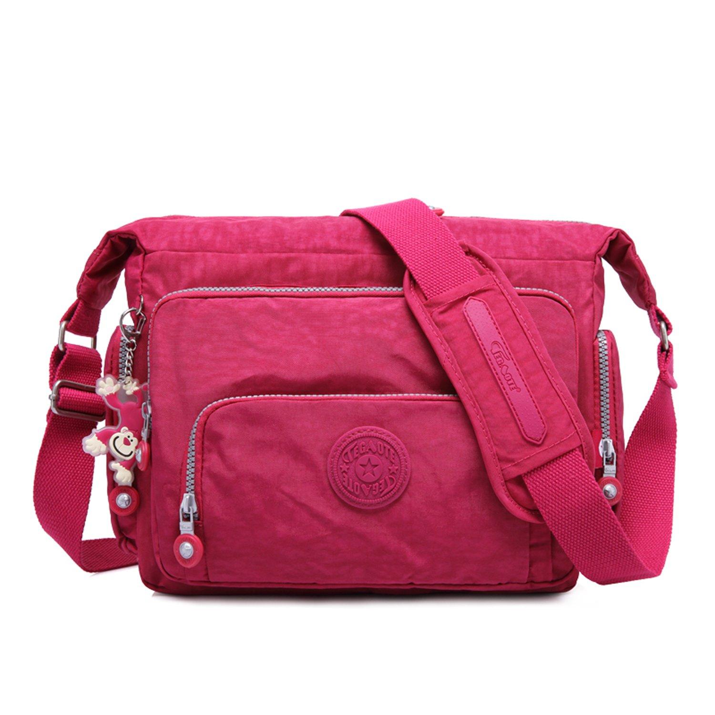 a6aab30315ef Outreo Designer Shoulder Bag Women Cross Body Bag Fashion Messenger Bag  Travel Side Bag for Sport Satchel Girls Bookbag